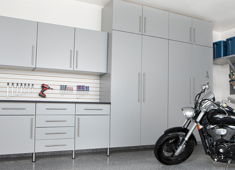 Motorcycle with Grey Cabinets - Classic Series